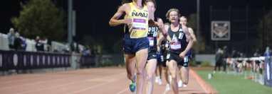 Luis Grijalva se ha formado como atleta en Estados Unidos, gracias al trabajo en la Universidad de Arizona. (Foto Luis Grijalva).