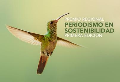 Amplían convocatoria para el premio Regional Periodismo en Sostenibilidad