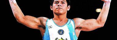 El gimnasta Jorge Vega es una de las grandes figuras del deporte guatemalteco. (Foto Hemerotaca PL).