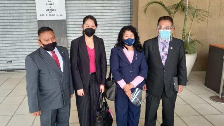Jueces de mayor riesgo que piden al MP que desestime denuncias antiguas en su contra. (Foto Prensa Libre: La Red)