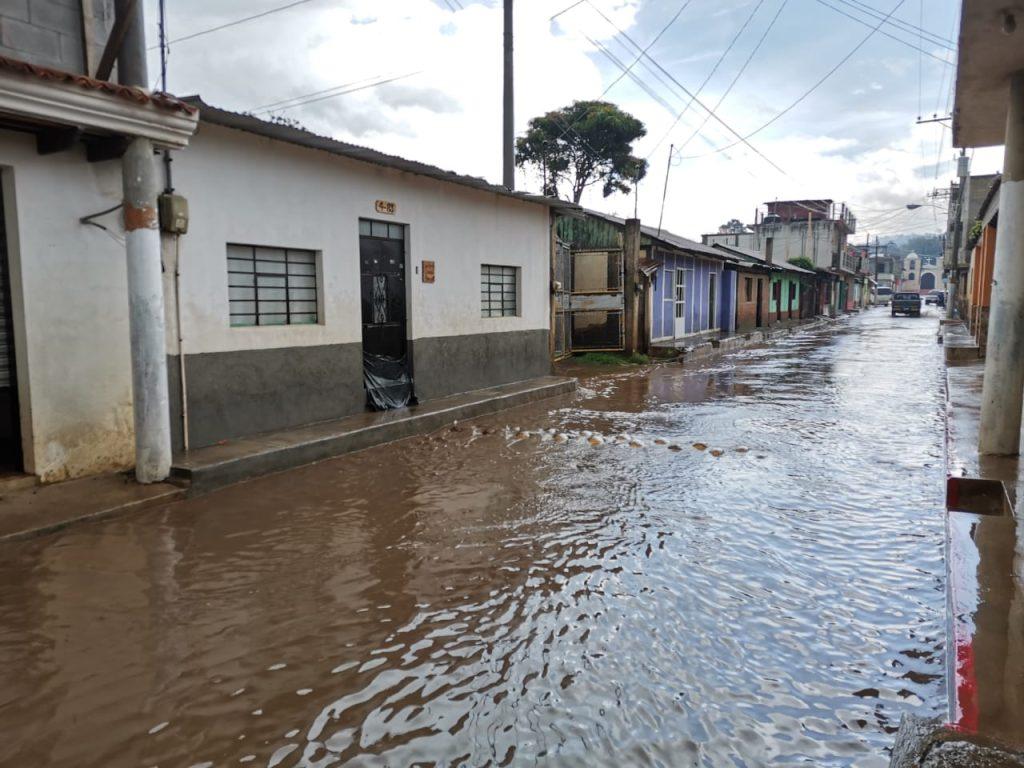 Inundaciones en Chimaltenango