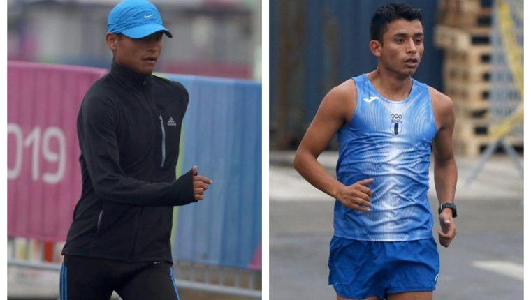 Érick Barrrondo y su hermano Uriel pelearán por el primer lugar en el Centroamericano en Esquipulas, Chiquimula. (Fotos COG).