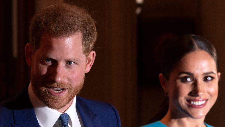 La segunda hija de Harry y Meghan, nació el viernes 4 de junio en Santa Barbara y ya está en su casa. (Foto Prensa Libre: AFP)