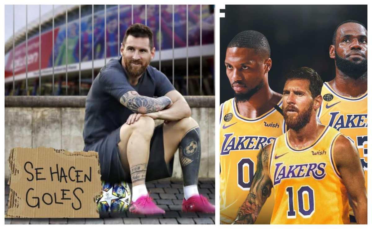 Estos son los memes del final del contrato de Lionel Messi con el Barcelona