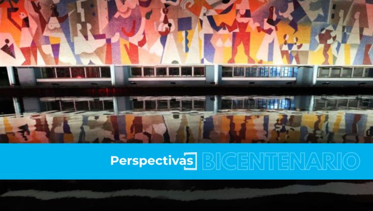 Mural La Seguridad Social, de Carlos Mérida, en las oficinas centrales del IGSS.