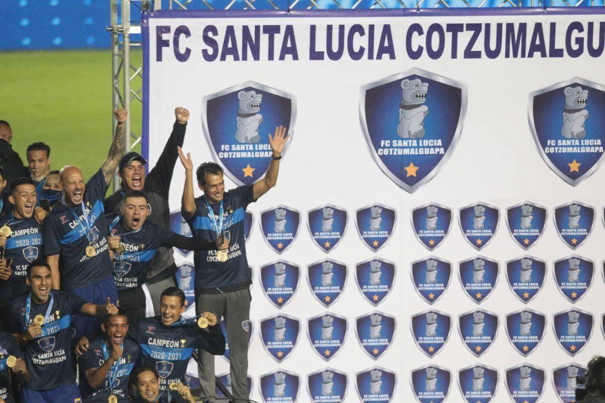 El campeón Santa Lucía hará su debut contra Malacateco en el Apertura 2021