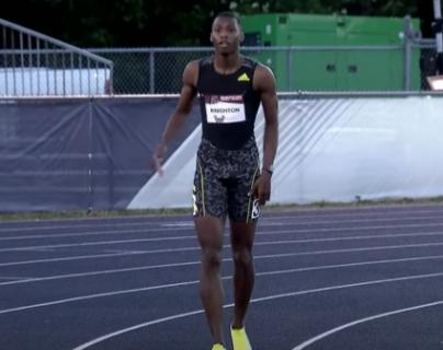 VIDEO. Un muchacho de 17 años batió un récord de Usain Bolt en los 200 metros