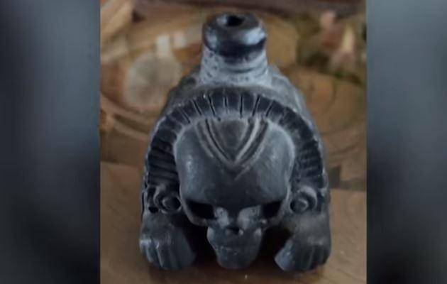 Escuche cómo suena el terrorífico silbato de la muerte azteca, utilizado en sangrientas batallas