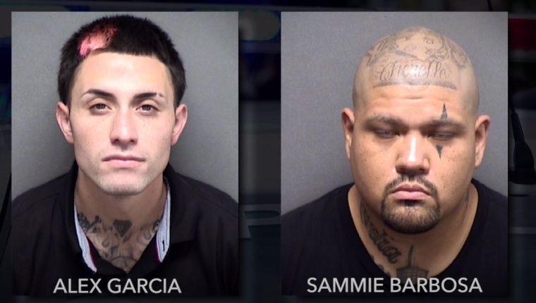 Los hombres fueron identificados como Alex García, de 25 años, y Sammie Barbosa, de 33. (Foto Prensa Libre: YouTube)