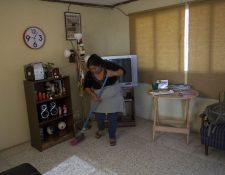 En Guatemala hay aproximadamente 300 mil trabajadores domésticos. (Foto Prensa Libre: Hemeroteca)