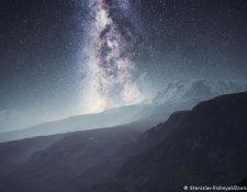 La Vía Láctea. (Stanislav Rishnyak/Zoonar/picture alliance)