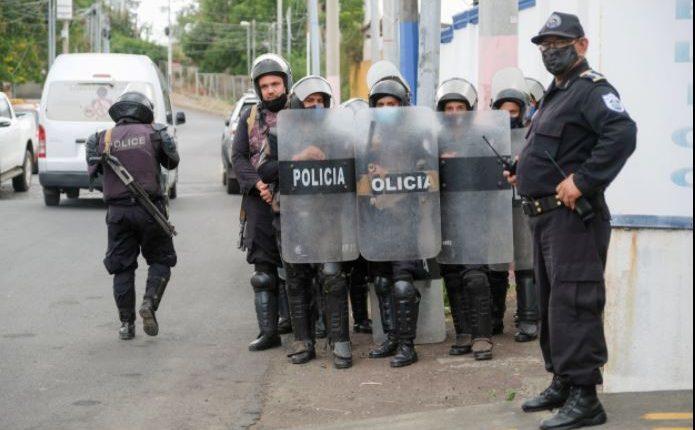La policía de Nicaragua confirmó el arresto de dos opositoras el domingo 13 de junio de 2021. [Archivo]