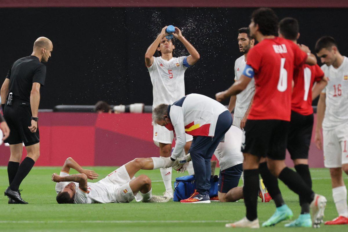 Complicado debut de España ante Egipto en Tokio-2020 con empate y dos jugadores lesionados