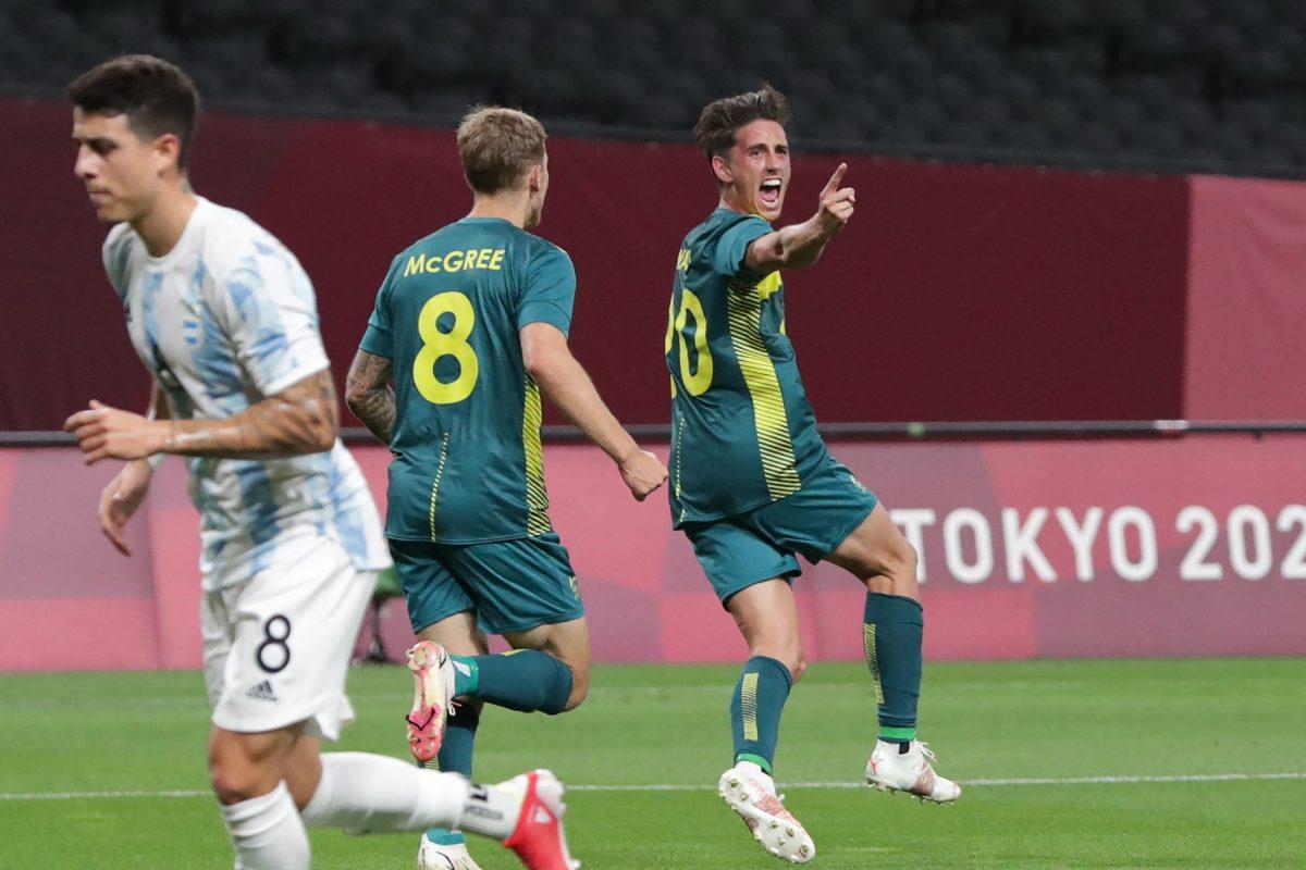 Argentina decepciona ante Australia en su debut en los Juegos Olímpicos de Tokio