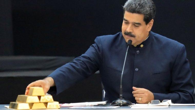 El gobierno de Nicolás Maduro ha hecho del oro su prioridad ante la caída del petróleo. Reuters