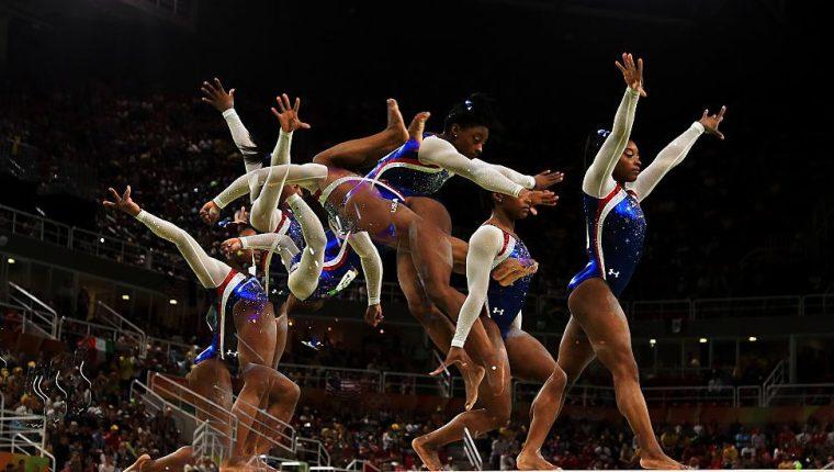 Simone Biles, la mejor gimnasta de la historia, se encamina a consolidar su leyenda en Tokio 2020. Getty Images