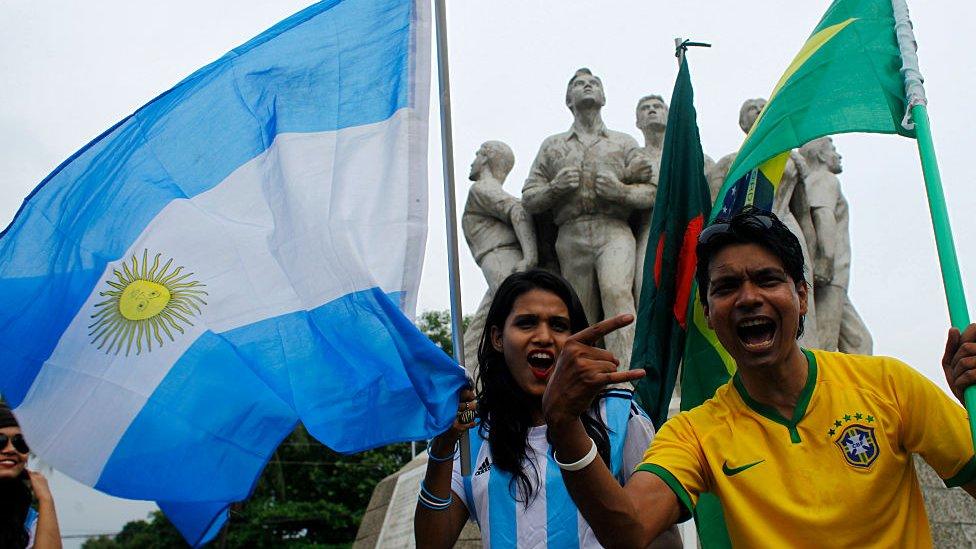 Copa América: el país asiático donde la pasión por Brasil y Argentina es tal que causa disturbios