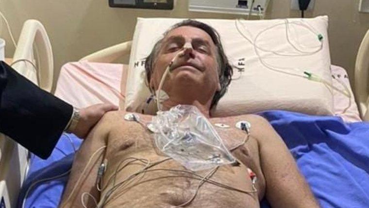 Jair Bolsonaro fue internado en un hospital de Sao Paulo. JAIR BOLSONARO