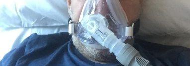 Abderrahmane Fadil se contagió de covid-19 y estuvo varios días en el hospital con oxígeno.