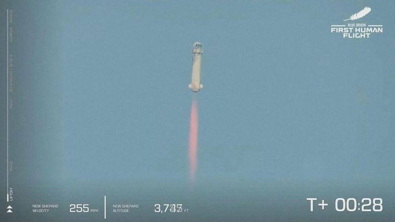 Jeff Bezos: cómo fue el viaje del multimillonario al espacio a bordo de su nave New Shepard