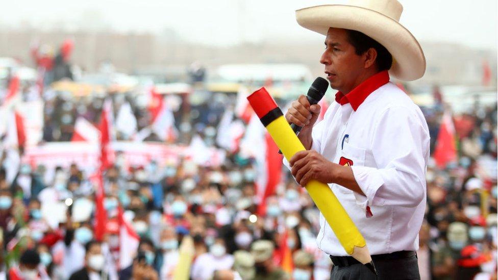 Pedro Castillo: sus 4 mayores desafíos como presidente de Perú