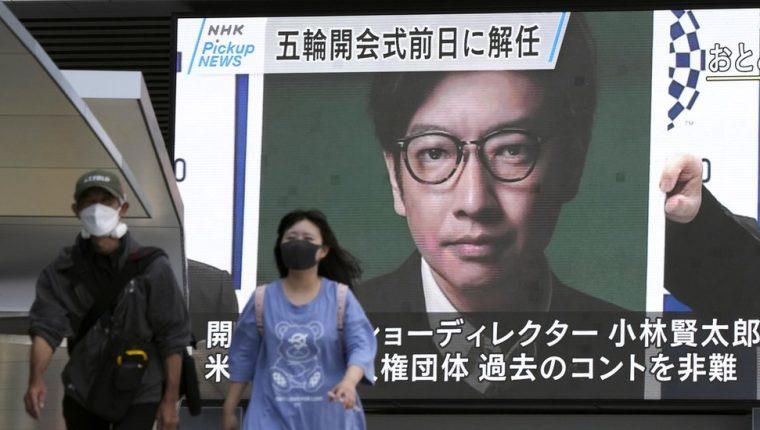 La noticia de la destitución de Kentaro Kobayashi se dio a conocer por todo Japón. EPA