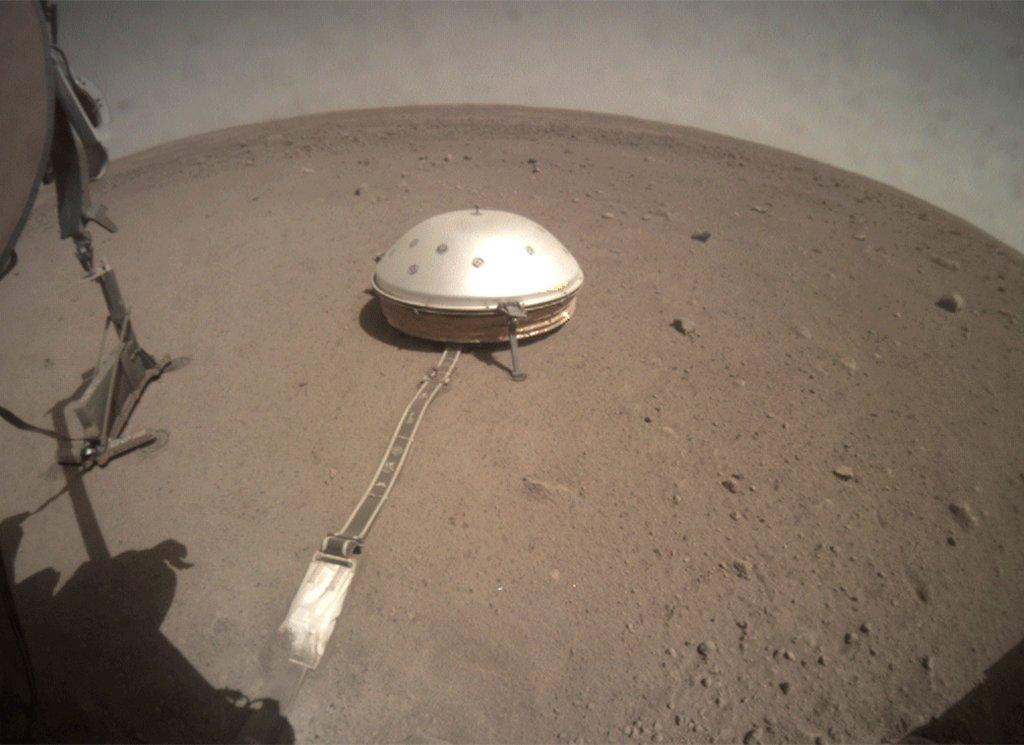 Viaje al centro de Marte: científicos de la NASA logran determinar la estructura interna del planeta rojo