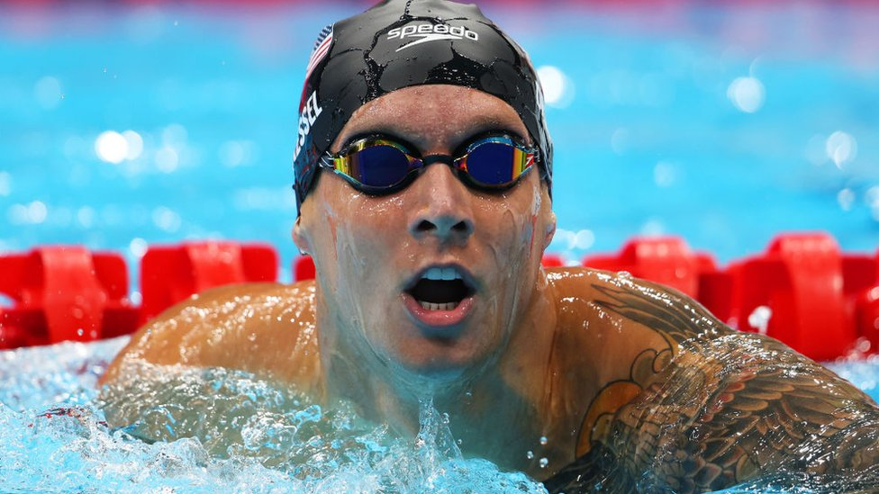 Olímpicos de Tokio: Caeleb Dressel, llamado a ser el sucesor de Michael Phelps, gana su primer oro