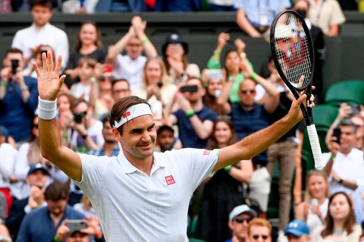 Roger Federer estará por quinta vez en Juegos Olímpicos y buscará una tercera medalla