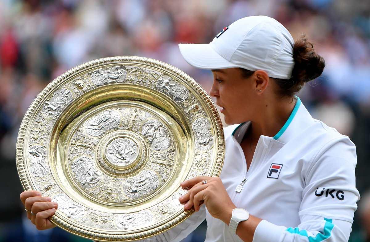 La australiana Barty gana Wimbledon, su segundo título del Grand Slam
