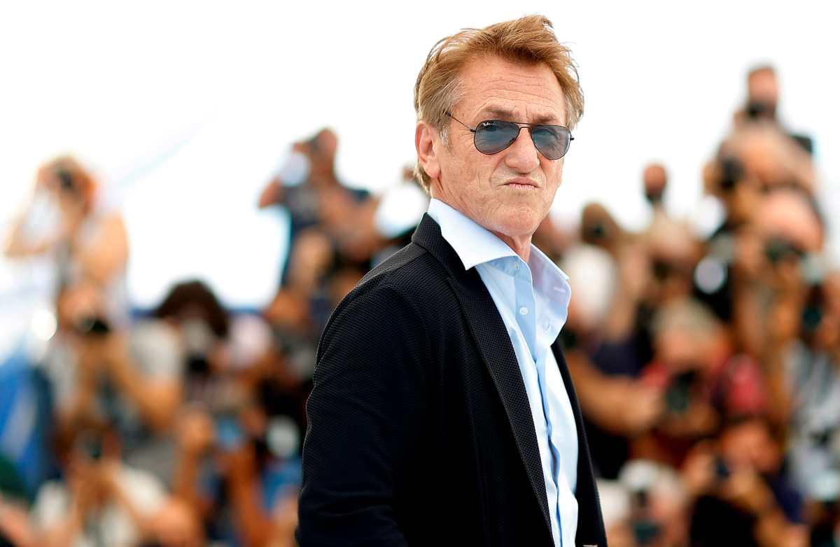 """Sean Penn no continuará la serie """"Gaslit"""" hasta que todos se vacunen contra el covid"""