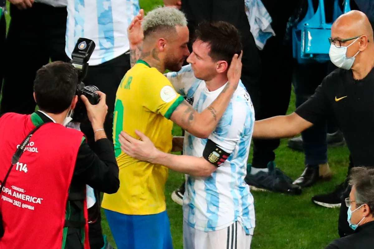 """""""Odio perder, pero disfruta del título"""", le dice Neymar a Messi"""