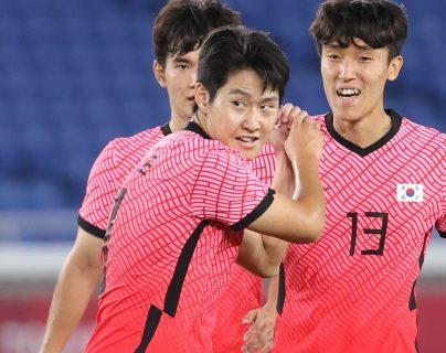 Corea del Sur golea 6-0 a Honduras y los elimina de los Juegos Olímpicos