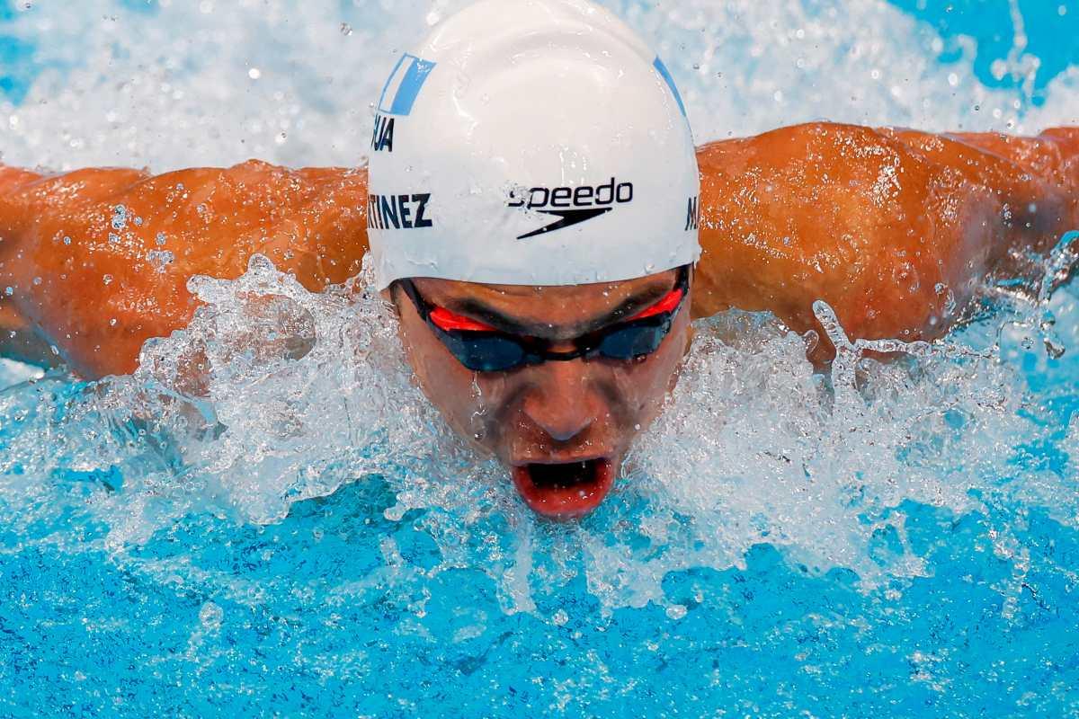 Luis Carlos Martínez, el primero en finales para la natación guatemalteca