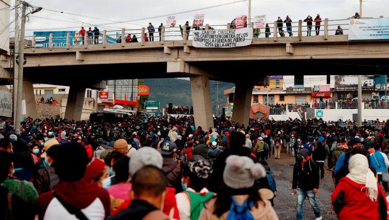 Organizaciones indígenas anunciaron protestas para este viernes 20 de agosto. (Hemeroteca PL)