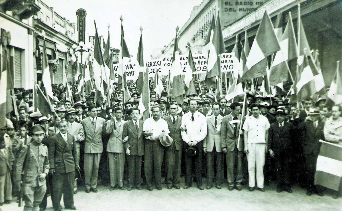 Historia de Guatemala: Triunfa la Revolución en 1944