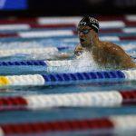 Michael Andrew en las pruebas de natación en Omaha, Nebraska, el 13 de junio de 2021. (Hiroko Masuike/The New York Times)