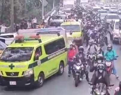 Múltiple colisión complica el tránsito en la Villalobos