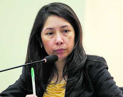 Jueza Erika Aifán demanda al Estado de Guatemala por amenazas a su independencia judicial y a su seguridad