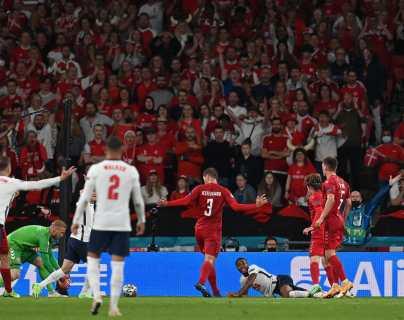 El VAR causa  polémica por el penalti que favoreció a Inglaterra en la Eurocopa