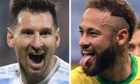 Lionel Messi y Neymar Jr destacan en la edición actual de la Copa América en el tope de la lista de los máximos asistidores. (Foto Prensa Libre: AFP)