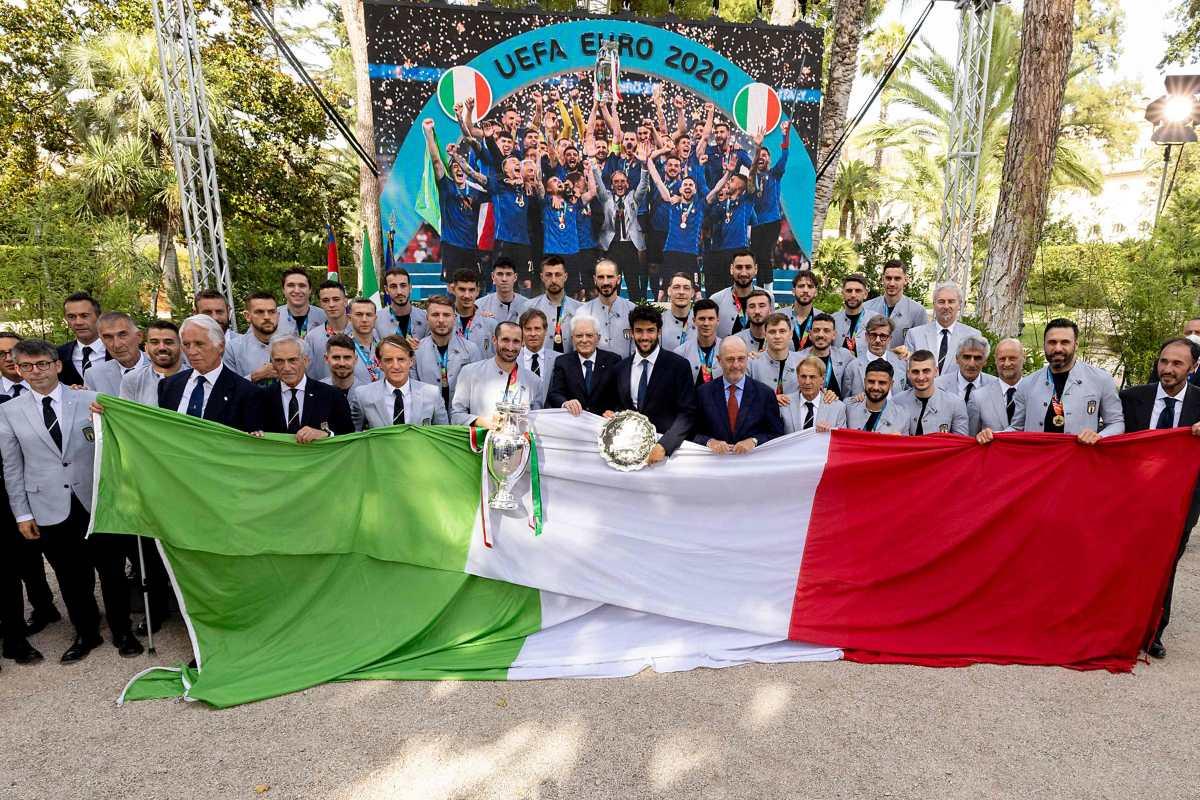 Cada jugador italiano ganará 250 mil euros por el triunfo en la Eurocopa