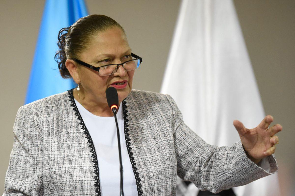 Jefa del MP justifica destitución del fiscal Juan Francisco Sandoval en carta que le envió al Departamento de Estado de Estados Unidos