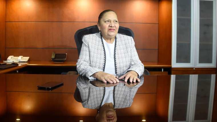 Fiscal general del Ministerio Público de Guatemala, María Consuelo Porras Argueta. (Foto Prensa Libre: AFP)