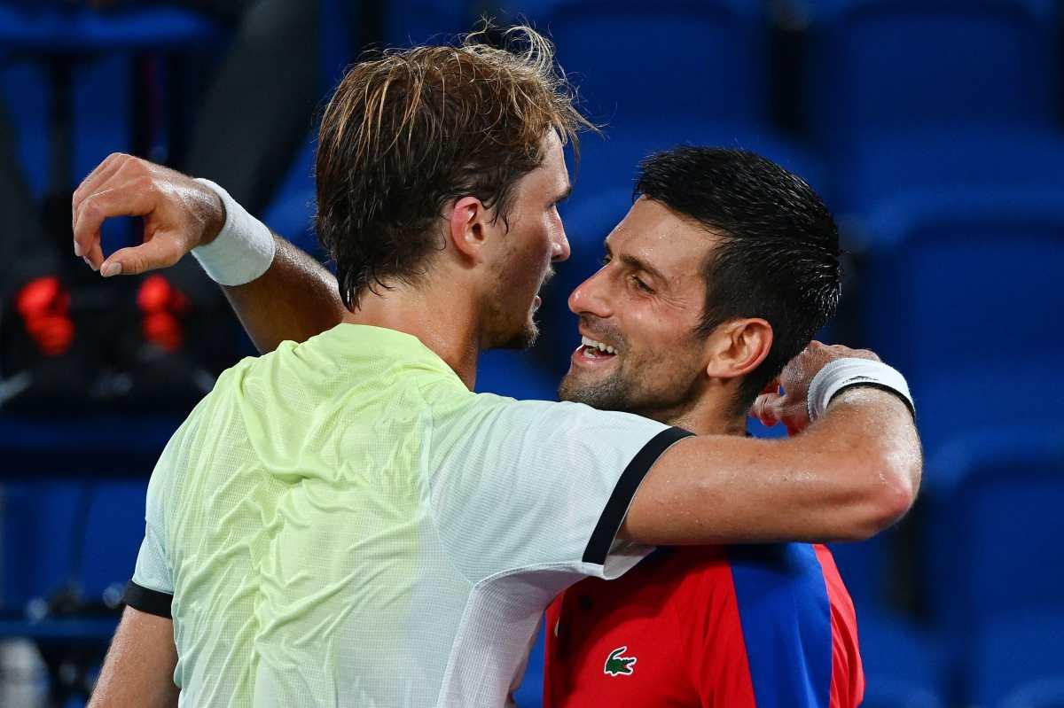 Novak Djokovic se queda sin su 'Golden Slam' y Alexander Zverev jugará por el oro en Tokio 2020