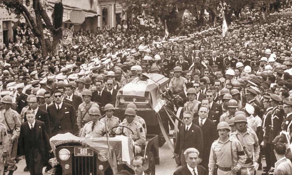 Historia de Guatemala: Asesinato del presidente Castillo Armas en julio de 1957