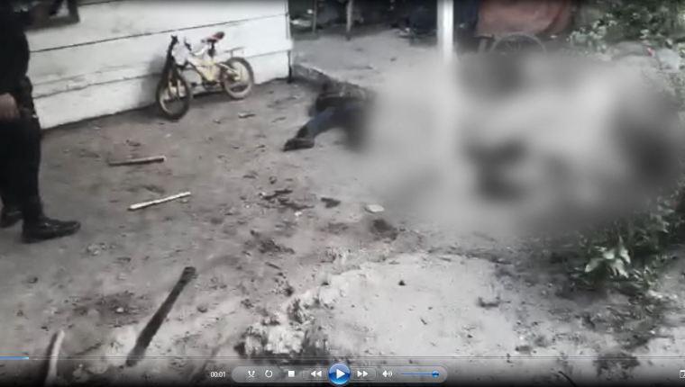 Los cuerpos de las víctimas de Pinto Gómez fueron encontradas alrededor de la vivienda. (Foto: Hemeroteca PL)