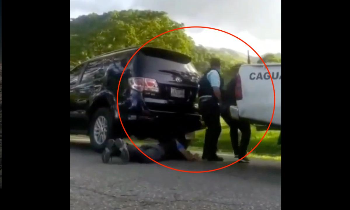 """""""¡Aguanta el fuego!"""": intensa balacera en Venezuela queda grabada en video"""