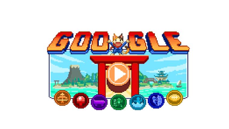 """El gigante de la tecnología estadounidense lanzó este """"doodle"""" el viernes en conmemoración a los JJ.OO. (Foto Prensa Libre: Google)"""