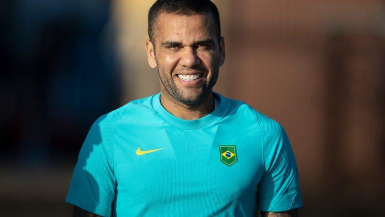 Dani Alves a sus 38 años reforzará a la selección de Brasil en los Juegos Olímpicos de Tokio. Foto @CBF_Futebol